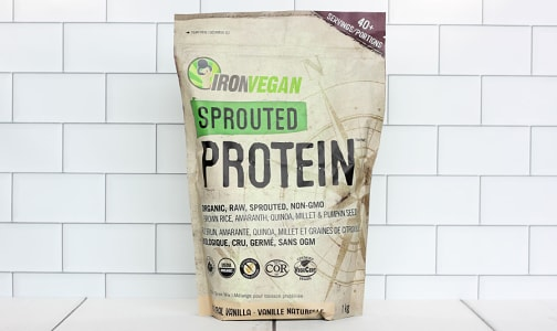 Organic Sprouted Protein - Vanilla- Code#: PC2637