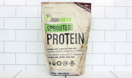 Organic Sprouted Protein - Unflavoured- Code#: PC2638