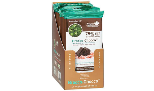 Brocco-Chocco,  Dark Chocolate- Code#: PC2651
