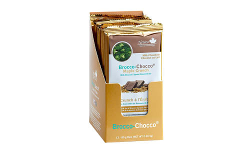 Brocco-Chocco Maple Crunch- Code#: PC2652