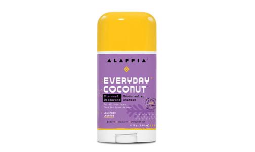 Coconut Reishi Deodorant - Lavender & Charcoal- Code#: PC2669