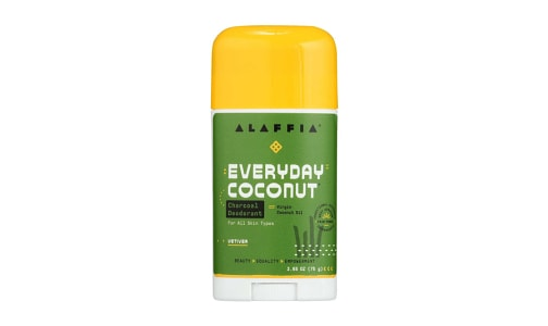 Coconut Reishi Deodorant - Vetiver & Charcoal- Code#: PC2670