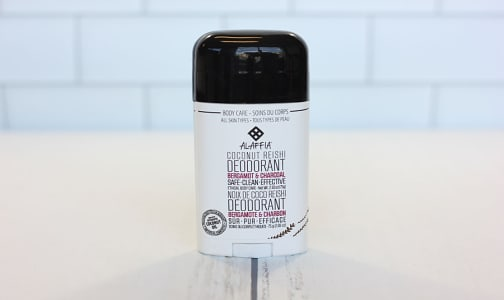 Coconut Reishi Deodorant - Bergamot & Charcoal- Code#: PC2671