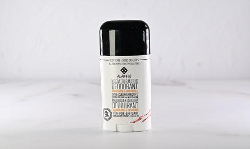 Neem Turmeric Deodorant - Mandarin Charcoal- Code#: PC2674