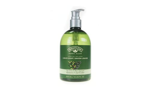 Herbal Blend Tea Tree & Blue Cypress Liquid Soap- Code#: PC2743