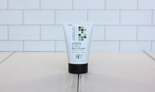 Organic Men's  Exfoliating Facial Scrub- Code#: PC2746