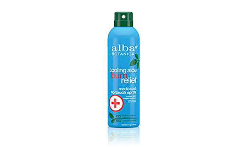 Cooling Aloe Burn Relief Medicated No Touch Spray- Code#: PC2800