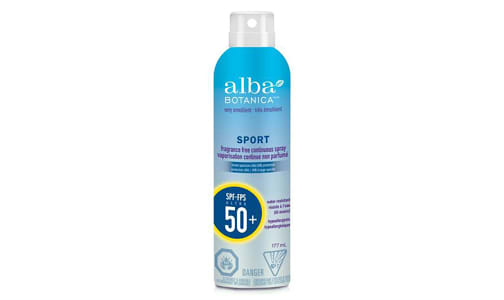 Cool Sport Sunscreen, Refreshing Clear Spray, SPF 50- Code#: PC2802