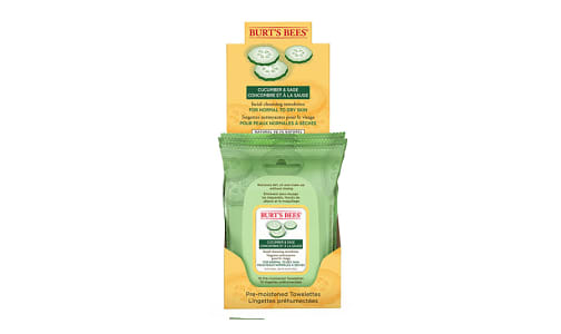 Facial Cleansing Towelettes With Cucumber and Sage- Code#: PC2818
