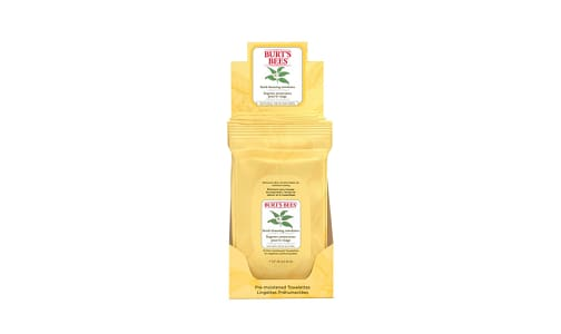 Facial Cleansing Towelettes With White Tea Extract- Code#: PC2819