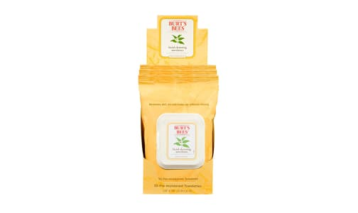 Facial Cleansing Towelettes With White Tea Extract- Code#: PC2821