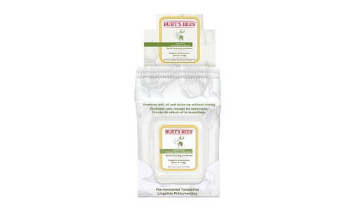 Sensitive Facial Cleansing Towelettes With Cotton Extract- Code#: PC2822
