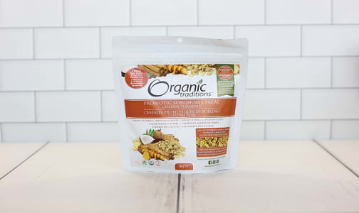 Organic Probiotic Sorghum Cereal - Golden Turmeric- Code#: PC2933