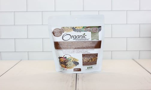 Organic Probiotic Sorghum Cereal - Chocolate Coconut Crunch- Code#: PC2934