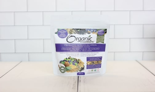 Organic Probiotic Sorghum Cereal - Triple Berry Blend- Code#: PC2935