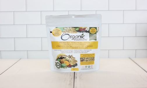 Organic Probiotic Sorghum Cereal - Tropical Lucuma Baobab- Code#: PC2936