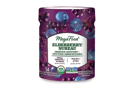 Organic Elderberry Immune Support Gummies - Berry- Code#: PC2964