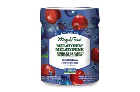 Organic Melatonin Berry Good Sleep Gummies - Berry- Code#: PC2965