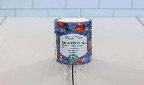 Organic Melatonin Berry Good Sleep Gummies - Berry- Code#: PC2965