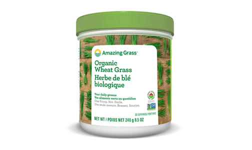 Organic Wheat Grass Powder- Code#: PC3100
