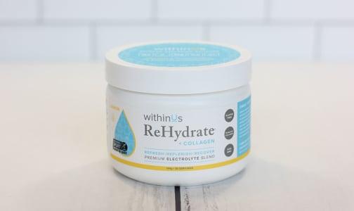 ReHydrate + TruMarine™ Collagen - Lemon- Code#: PC3403