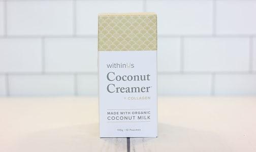 Coconut Creamer + TruMarine™ Collagen Singles- Code#: PC3406