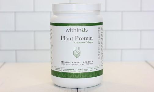 Plant Protein + TruMarine™ Collagen- Code#: PC3407
