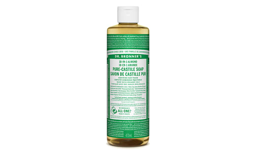 18-in-1 Hemp Pure-Castile Soap - Almond- Code#: PC3603
