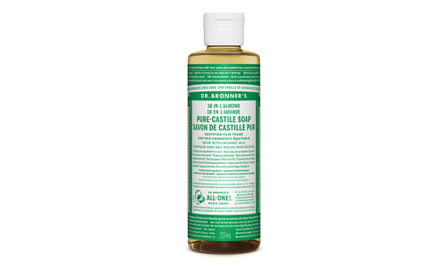 18-in-1 Hemp Pure-Castile Soap - Almond- Code#: PC3606