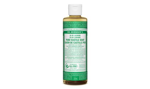 18-in-1 Hemp Pure-Castile Soap - Almond- Code#: PC3606