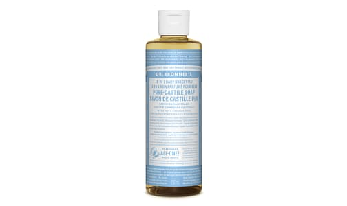 18-in-1 Hemp Pure-Castile Soap - Unscented- Code#: PC3608