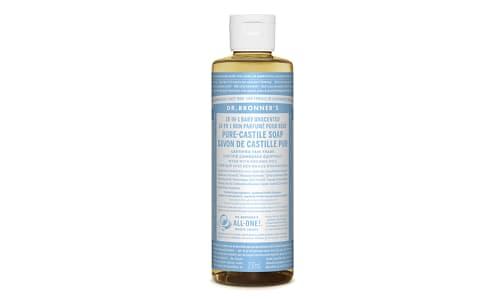 18-in-1 Hemp Pure-Castile Soap - Unscented- Code#: PC3608