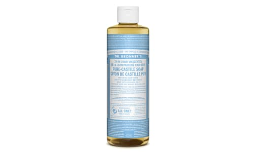 18-in-1 Hemp Pure-Castile Soap - Unscented- Code#: PC3611