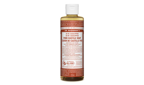 18-in-1 Hemp Pure-Castile Soap - Eucalyptus- Code#: PC3615