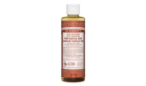 18-in-1 Hemp Pure-Castile Soap - Eucalyptus- Code#: PC3615