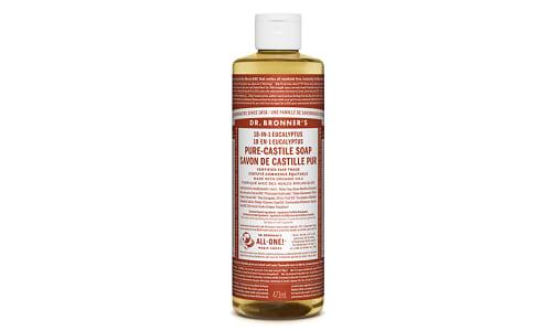18-in-1 Hemp Pure-Castile Soap - Eucalyptus- Code#: PC3616