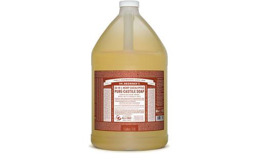 18-in-1 Hemp Pure-Castile Soap - Eucalyptus- Code#: PC3617