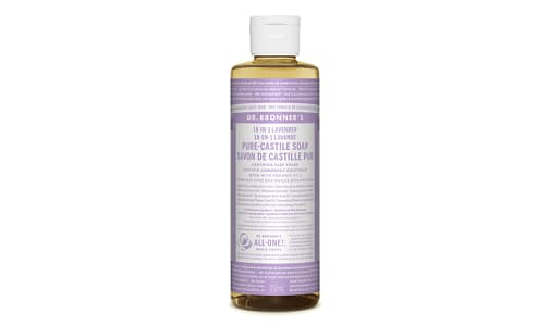 18-in-1 Hemp Pure-Castile Soap - Lavender- Code#: PC3618