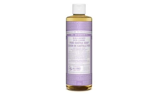 18-in-1 Hemp Pure-Castile Soap - Lavender- Code#: PC3619