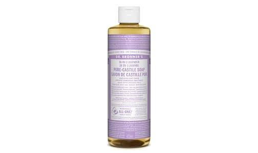 18-in-1 Hemp Pure-Castile Soap - Lavender- Code#: PC3619
