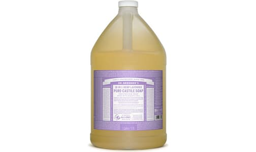 18-in-1 Hemp Pure-Castile Soap - Lavender- Code#: PC3620