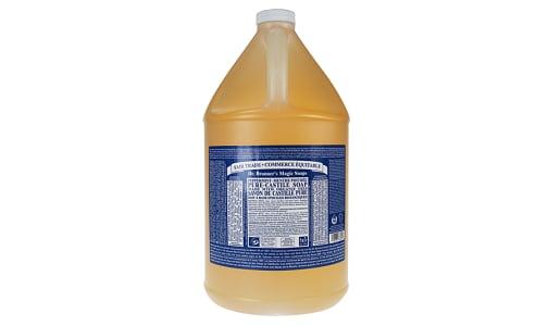 18-in-1 Hemp Pure-Castile Soap - Peppermint- Code#: PC3627