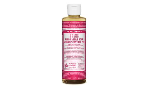18-in-1 Hemp Pure-Castile Soap - Rose- Code#: PC3631