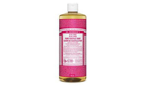 18-in-1 Hemp Pure-Castile Soap - Rose- Code#: PC3633