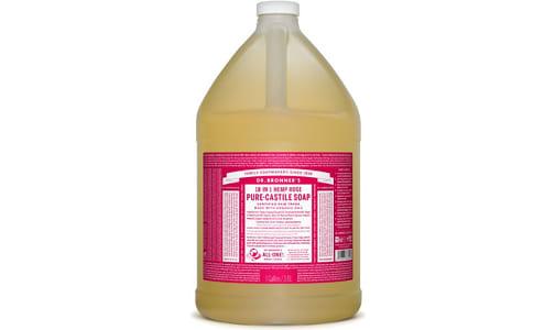 18-in-1 Hemp Pure-Castile Soap - Rose- Code#: PC3634