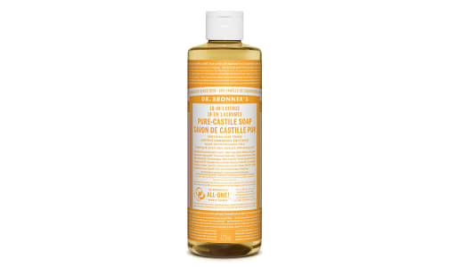 18-in-1 Hemp Pure-Castile Soap - Citrus- Code#: PC3636