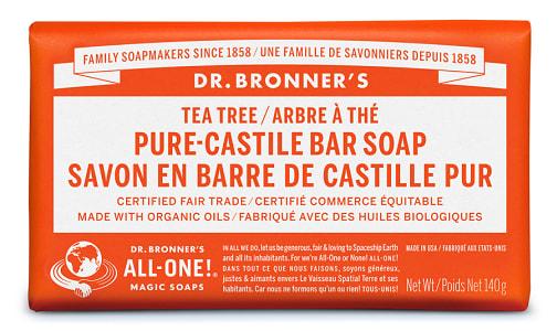 Pure-Castile Bar Soap - Tea Tree- Code#: PC3642