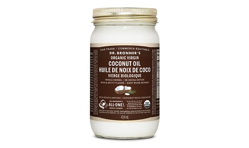 Whole Kernel Organic Virgin Coconut Oil- Code#: PC3646
