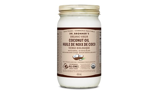 White Kernel Organic Virgin Coconut Oil- Code#: PC3647