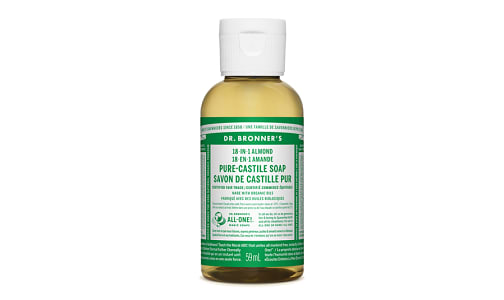 18-in-1 Hemp Pure-Castile Soap - Almond- Code#: PC3653